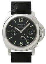 Panerai Contemporary Luminor Power Reserve Sort/Læder Ø44 mm