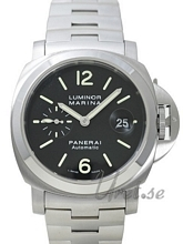 Panerai Contemporary Luminor Marina Automatic Sort/Stål Ø44 mm