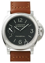 Panerai Historic Luminor Marina Sort/Læder Ø44 mm