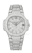 Patek Philippe Nautilus Haute Joaillerie Diamantudsmykket/18 kar