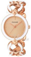 Pulsar Rosa guldfarvet/Rosaguldtonet stål