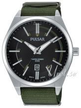 Pulsar Sort/Stål Ø45 mm