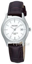 Pulsar Hvid/Læder