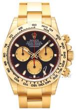 Rolex Cosmograph Daytona Sort/18 karat guld