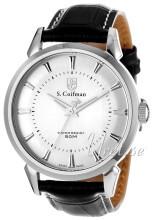 S.Coifman Sølvfarvet/Læder