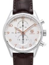 TAG Heuer Carrera Calibre 1887 Automatic Chronograph Sølvfarvet/