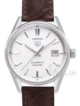 TAG Heuer Carrera Sølvfarvet/Læder