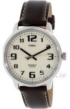 Timex Hvid/Læder