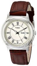 Timex Classic Elevated Beige/Læder