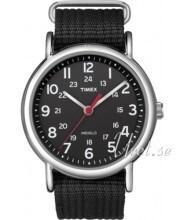Timex Weekender Sort/Stål