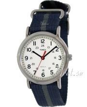 Timex Hvid/Tekstil