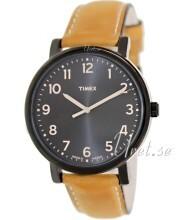 Timex Sort/Læder