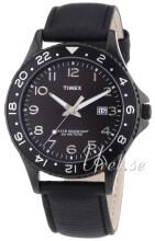Timex Sports Sort/Læder