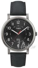 Timex Classic Sort/Læder