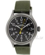 Timex Expedition Sort/Tekstil