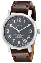 Timex Grå/Læder