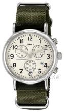 Timex Weekender Beige/Stål