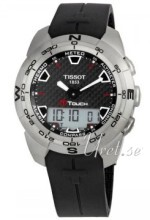 Tissot Touch Collection T Touch Sort/Gummi