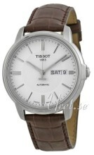 Tissot Automatics III Sølvfarvet/Læder