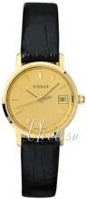 Tissot T-Gold Champagne/Læder